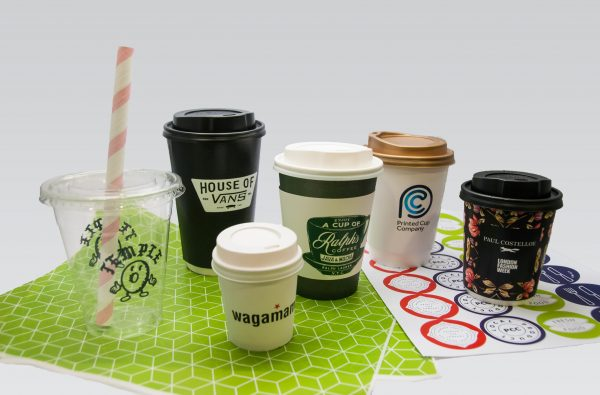 Image shows product range that compliments printed stickers