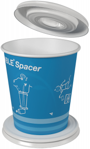 DispozABLE Spacer Paper Cup